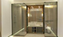 淋浴房智能玻璃项目